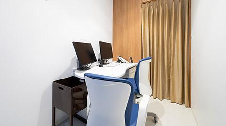 Dクリニック新宿の診察室イメージ